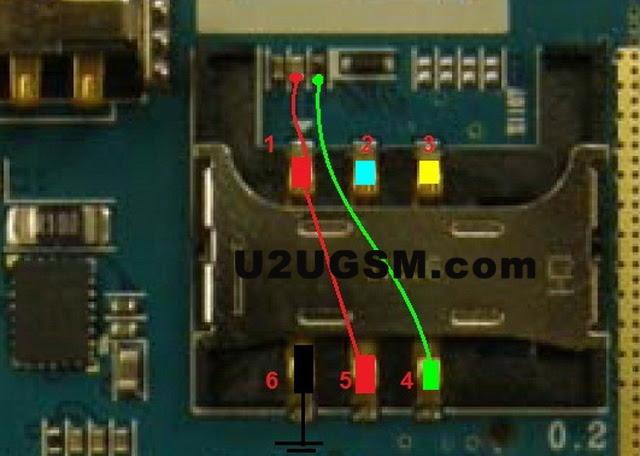Samsung E1107 Insert Sim Card Problem Solution Jumper Ways