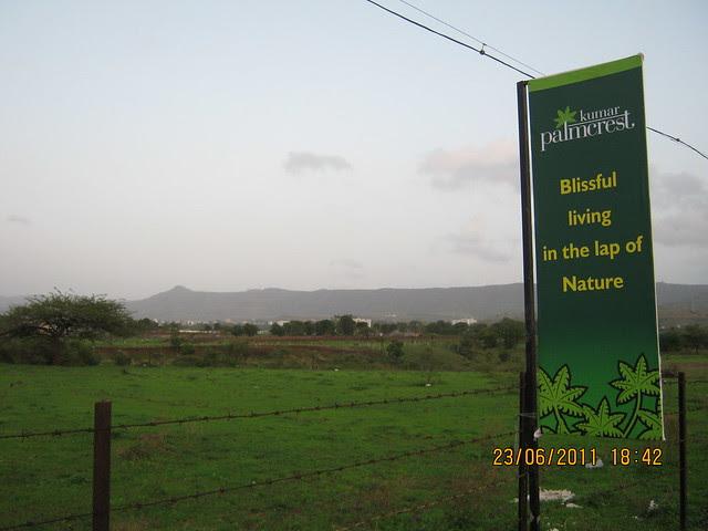 Kumar Properties' Kumar Palmcrest, 2 BHK Flats, in the lap of nature, off Katraj - Saswad Road, behind Savitiri Palace Mangal Karyalaya, Khadi Machine Chowk (Kondhwa Road) to Undri Chowk, Pisoli Gram Panchayat, Pune 411 028