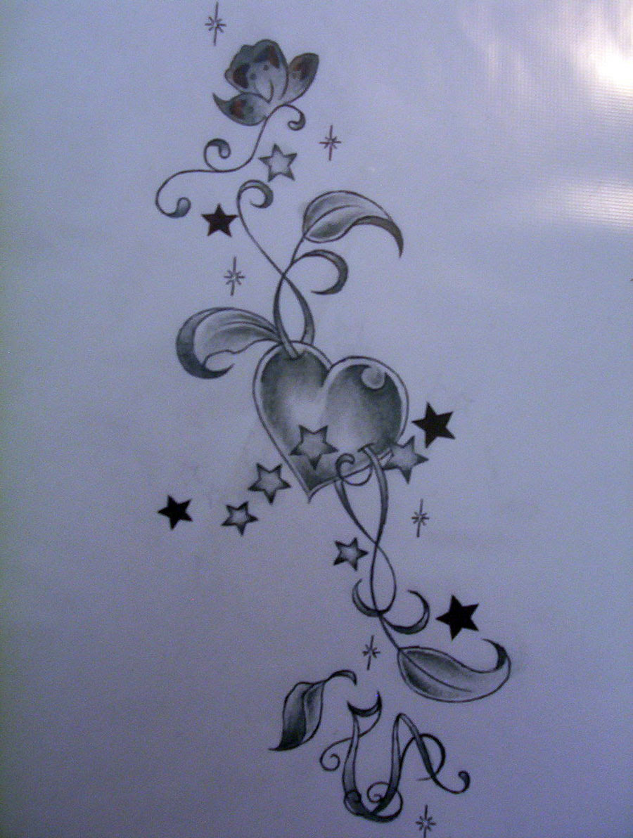 Star Tattoo Drawing At Getdrawingscom Free For Personal Use Star
