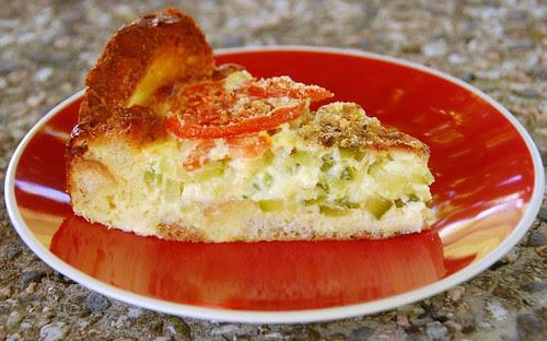 torta di pane e zucchini