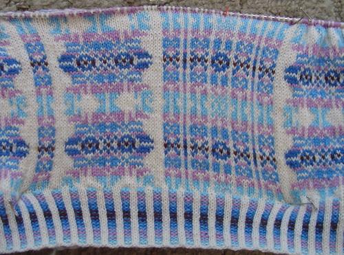 Vertical Stripes fair isle - March 5, 2006