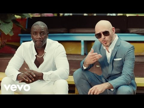 Te Quiero Amar - Akon ft. Pitbull (English & Latin) | Lyricsgoody