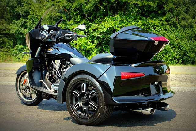 Motor Trike Vortex Is A Modified Victory Autoevolution