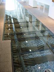 Railway Line under glass - Palma