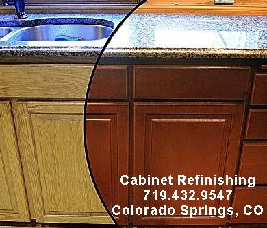 Cabinet Refinishing In Colorado Springs Colorado