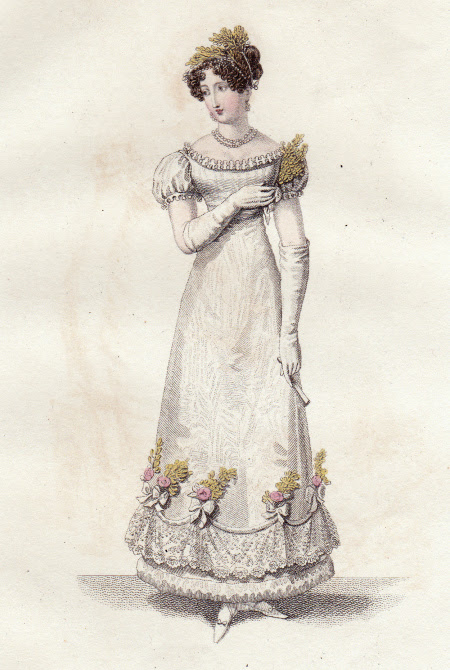 evening gown 1819
