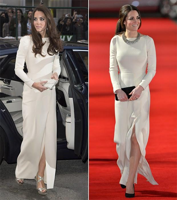 Kate Middleton em maio de 2012 e hoje (Foto: Getty Images | AFP)