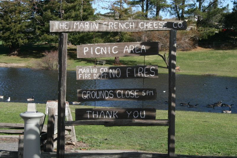 Marin French Cheese Company Pond