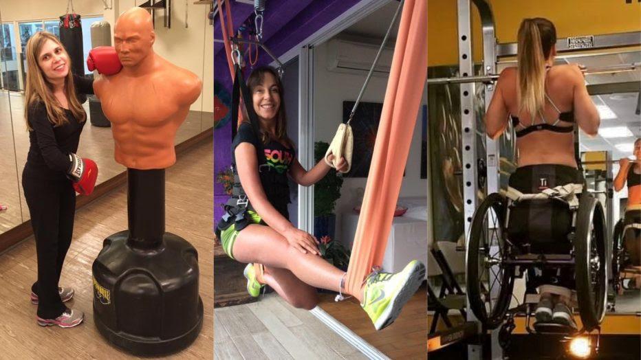 Nathalia Blagevitch decidiu pela musculação e o boxe adaptado após assistir a uma palestra da deputada federal Mara Gabrilli e quer incentivar a prática entre pessoas com deficiência. Imagem: Divulgação