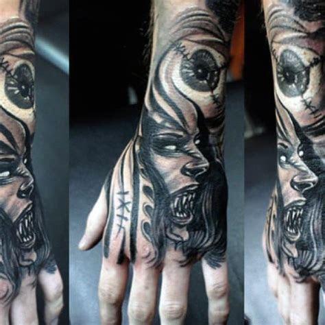 vampire tattoos men bite cool designs