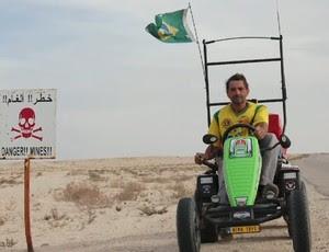 Zé do Pedal no Zona de Impacto (Foto: Reprodução/ SporTV)