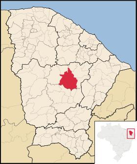 Localização de Quixeramobim