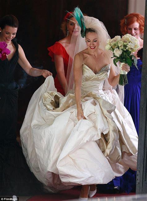Sarah Jessica Parker launches bridal shoe collection
