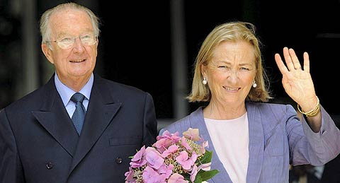 En la imagen, Alberto II y Paula de Bélgica. (Foto: EFE)