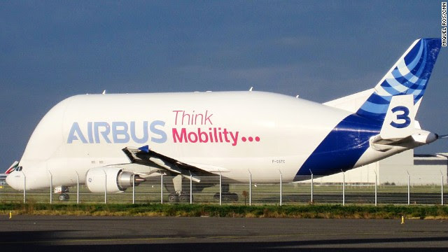 The legendary Beluga has brought many a plane spotter to Toulouse. Visitors can often be found sitting on the grass near Toulouse Blagnac Airport waiting for one of the five big beauties to take off or land.
