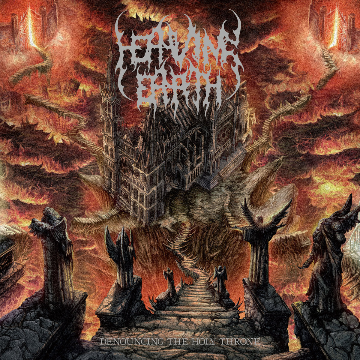 Heaving Earth - Denouncing the Holy Throne (2015)