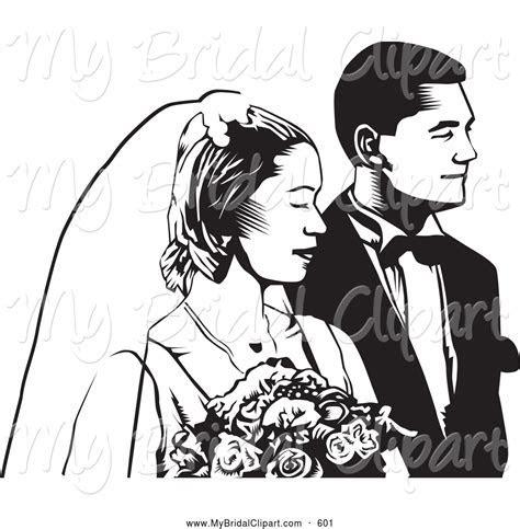 Christian wedding couple clipart collection
