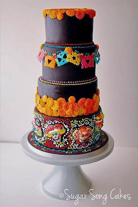 19 best Mexican Wedding Cakes images on Pinterest