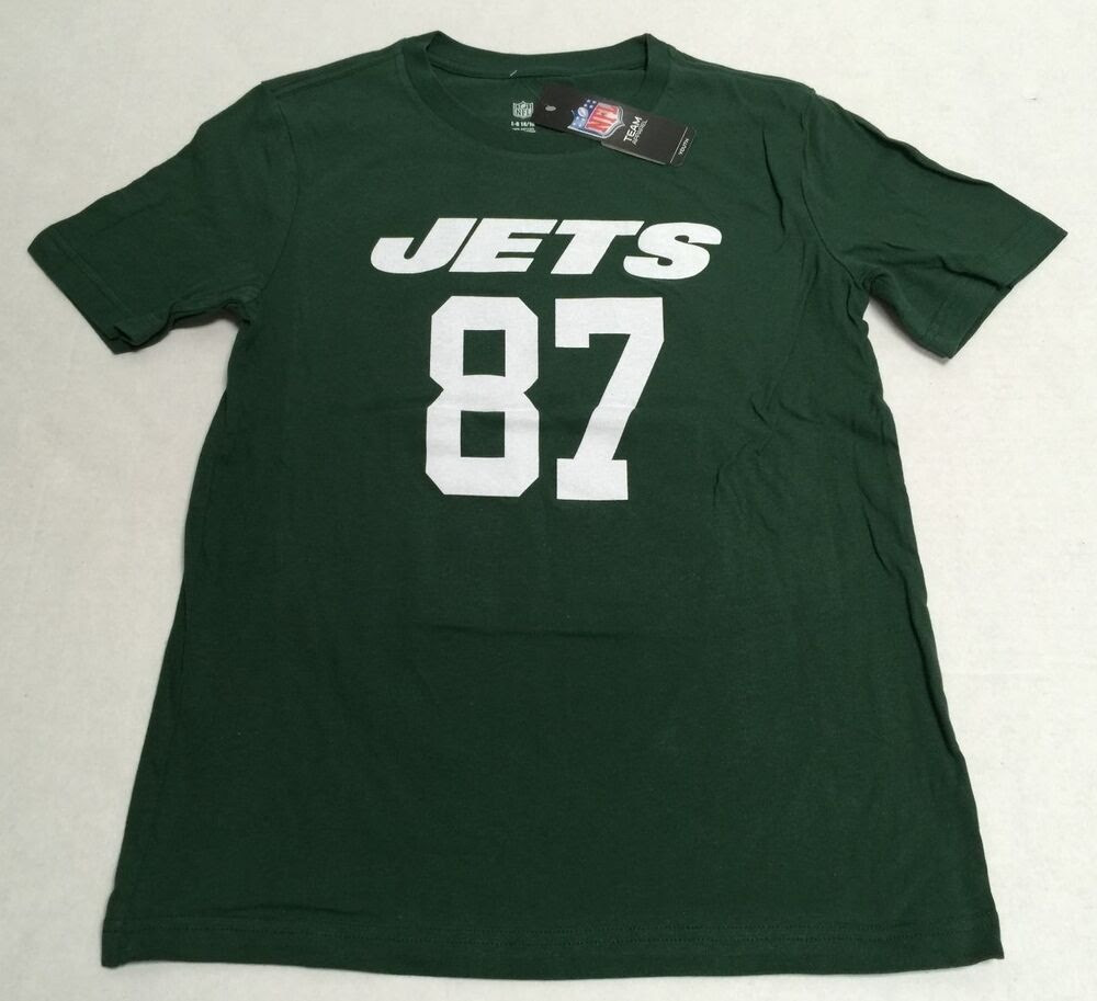 NFL Eric Decker New York Jets 87 Official NFL Youth Fan Apparel TShirt  eBay