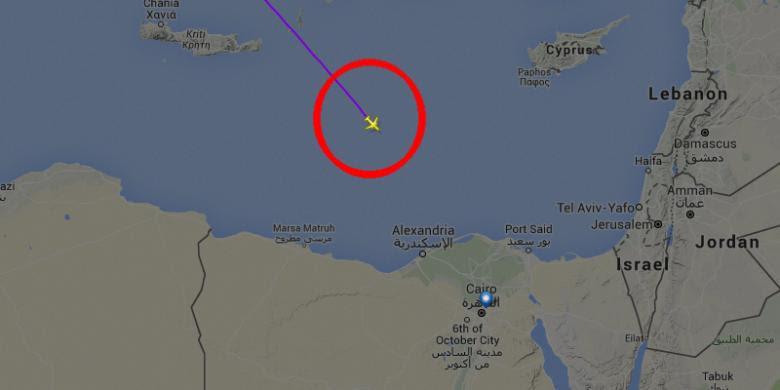 Pesawat EgyptAir Jatuh karena iPhone Meledak di Kokpit?