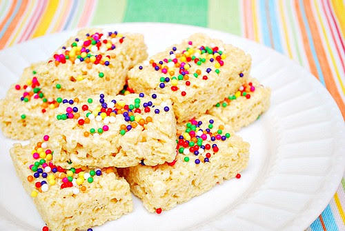 Celebration Rice Krispie Treats