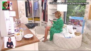Cristina Ferreira sensual nas manhas da Sic