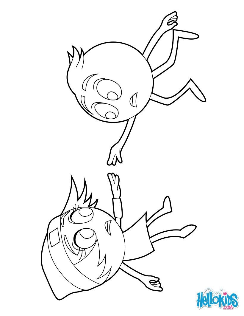 Dibujos Para Colorear Gene Y Princesa Emoji Linda Eshellokidscom