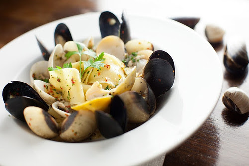 Mussels & Clams Lombardi con Pappardelle