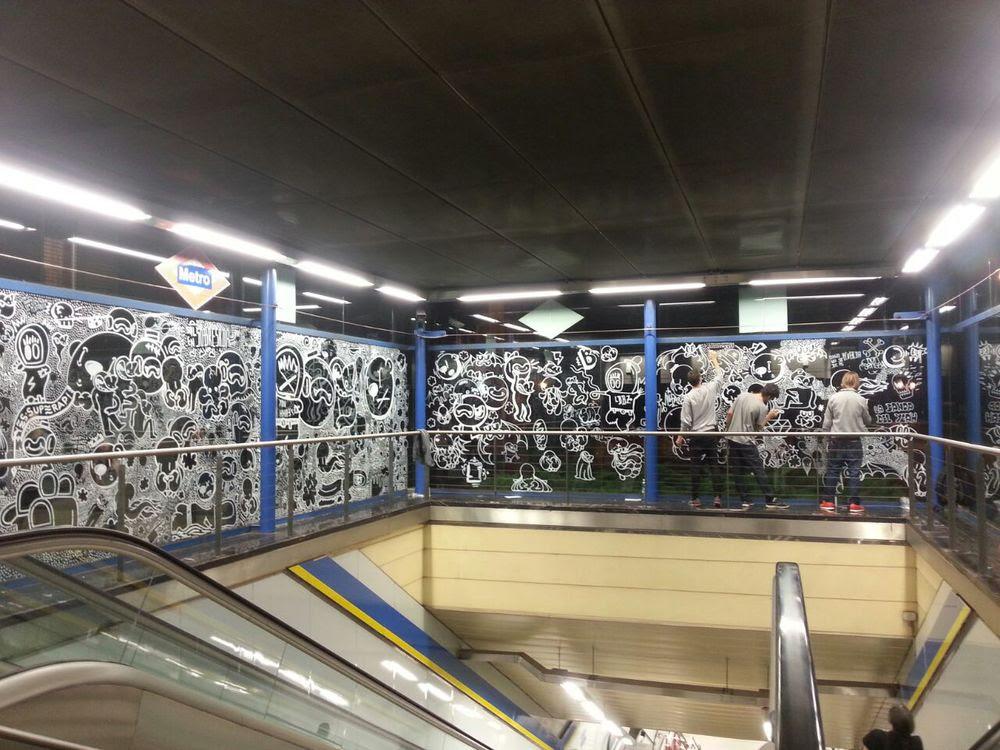 Metro de Madrid, moncloa