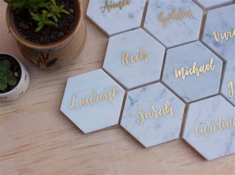 25  best ideas about Wedding Name Cards on Pinterest