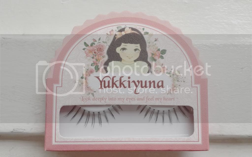 yukkiyuna fake eyelashes sweet nature