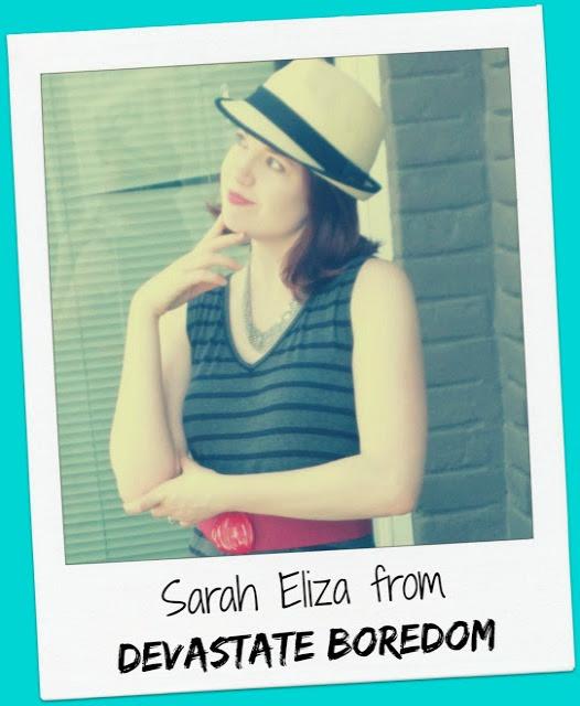 Host: Sarah Eliza from Devastate Boredom
