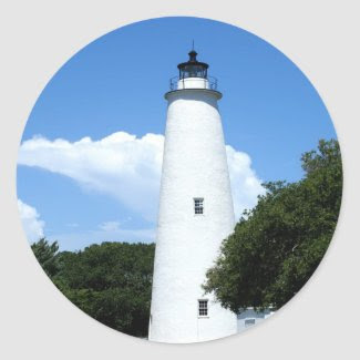 Ocracoke Lighthouse Sticker
