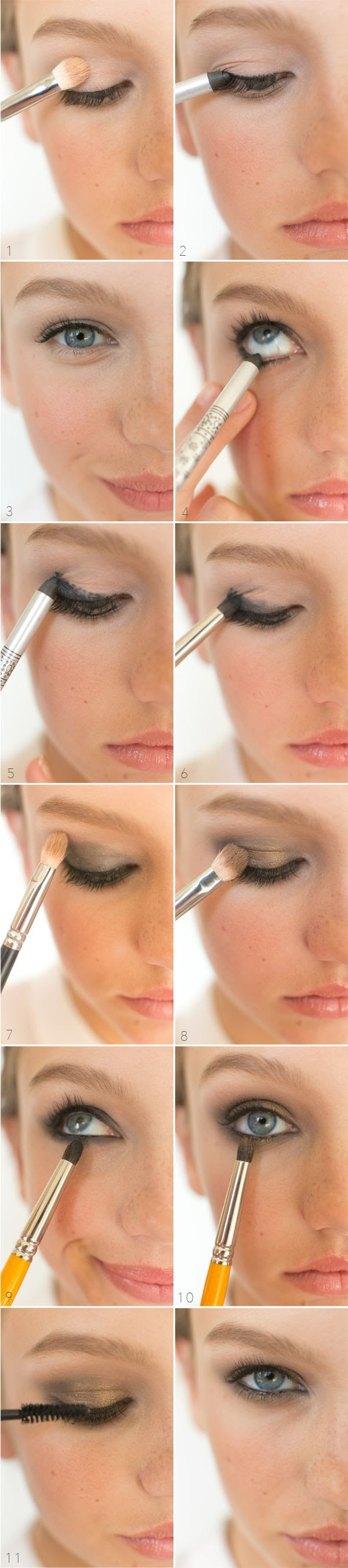 DIY: smokey eye