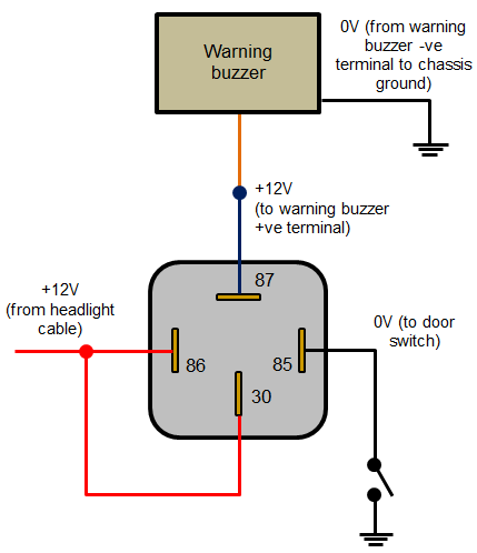 Headlamp Warning Buzzer