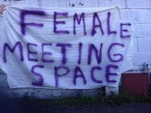female meeting space