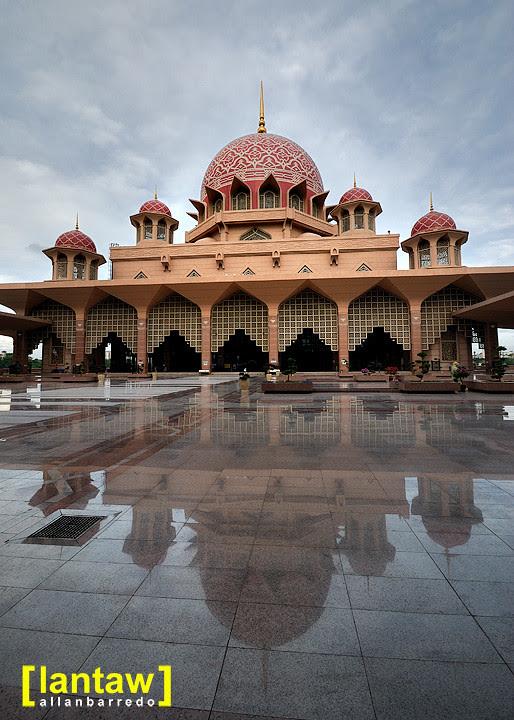 Putra Mosque Ultra Clean Courtyard