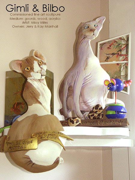 Gimli & Bilbo - Fine Art Commission