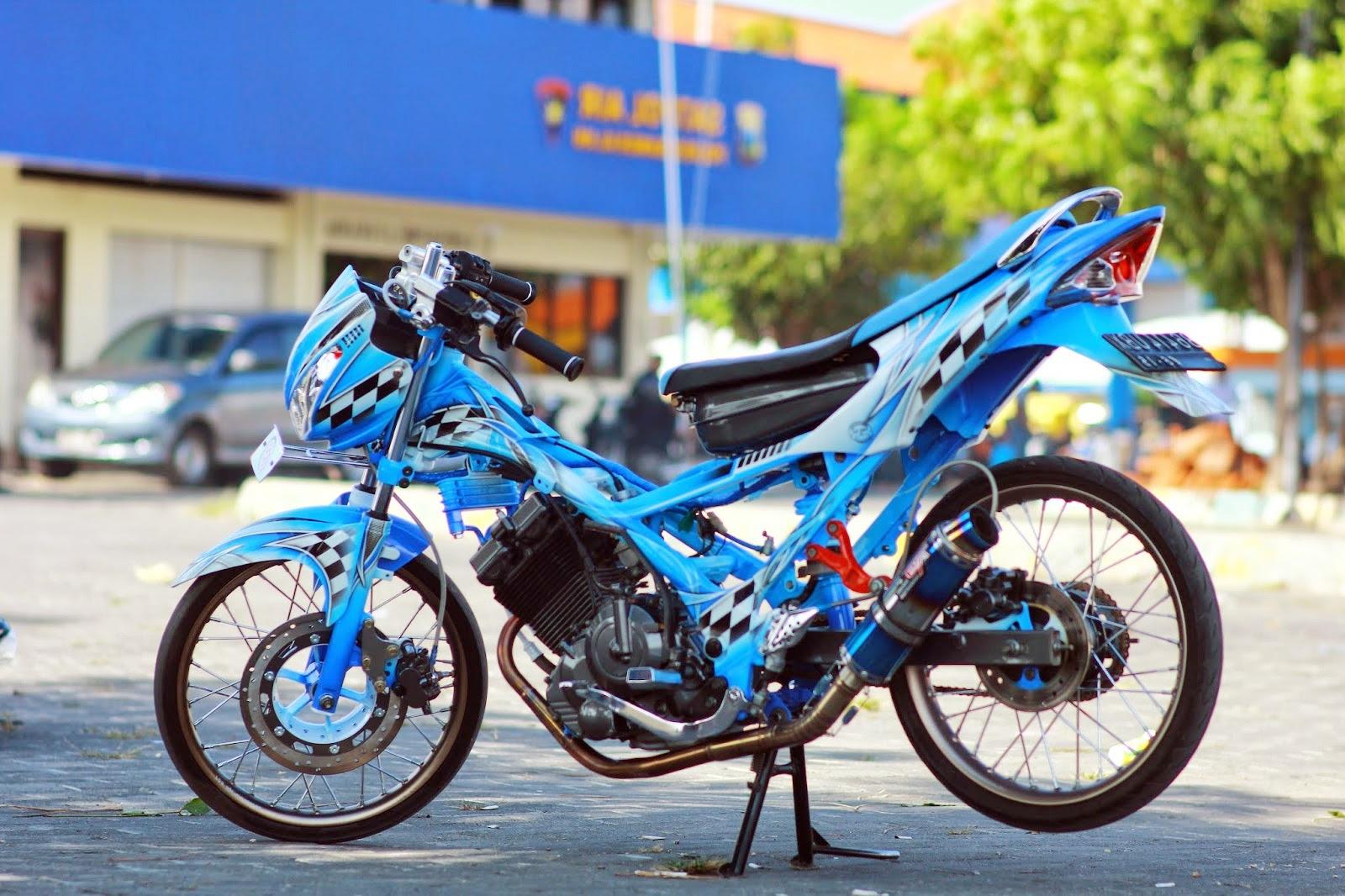 Top Modifikasi Motor Satria Fu Terbaru Harga Barang Terbaru 2017