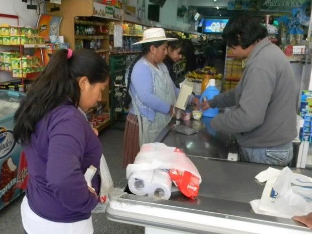 Recesión en la economía de la frontera