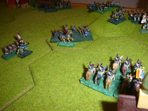 D'Erlon begins to contract his lines against renewed Prussian pressure