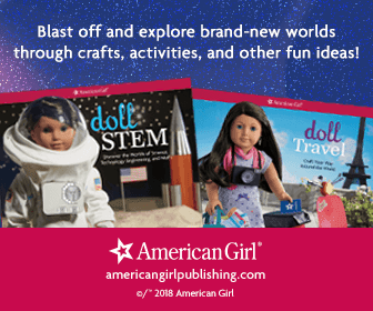 Blast off and explore brand-new worlds through crafts, activities, and other fun