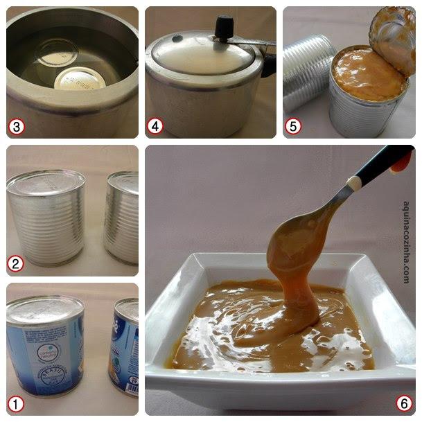 Leite condensado cozido Leite Condensado Cozido