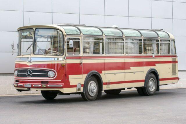1961 Mercedes-Benz 0321H Bus, Former Swiss Hockey Team Bus ...