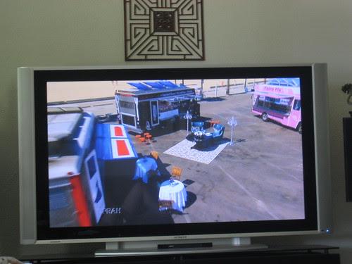 Food trucks on Oprah show