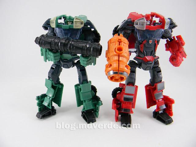 Transformers Sargeant Kup - Prime RID - modo robot vs Ironhide