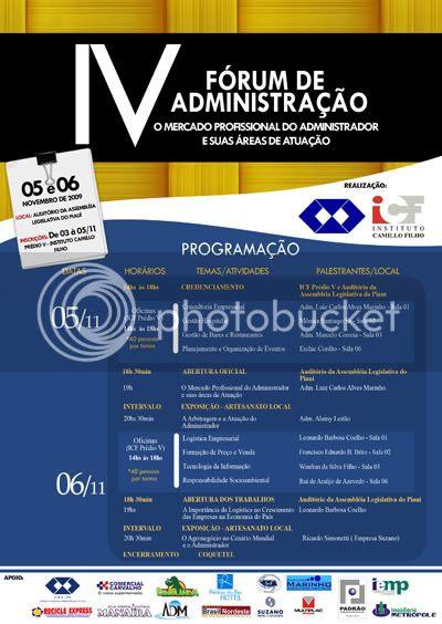 IV Fórum de Administração