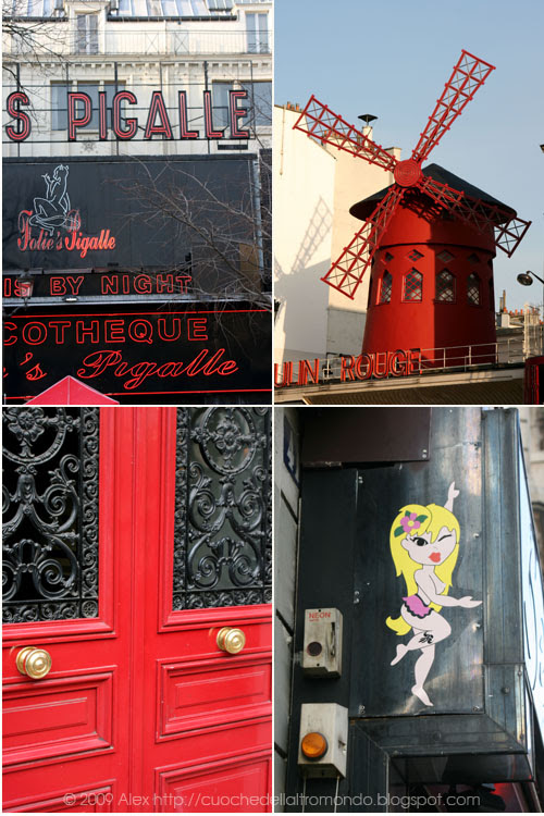 Pigalle e Moulin Rouge