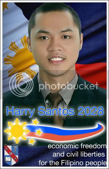harry santos president of the philippines 2028