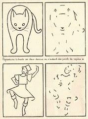 chat danse
